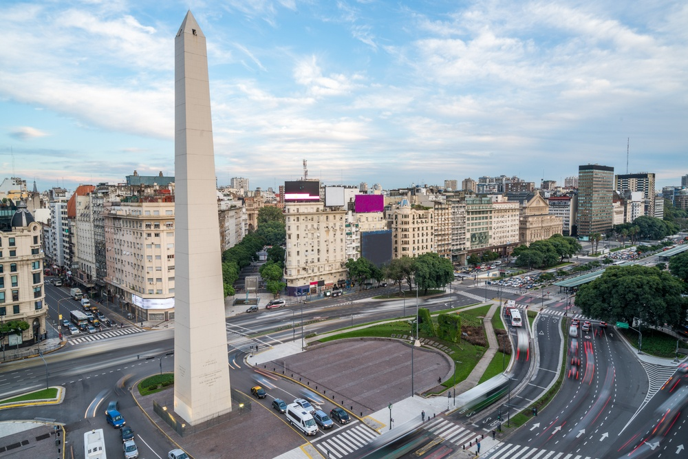 9 de Julio Avenue & the Obelisk