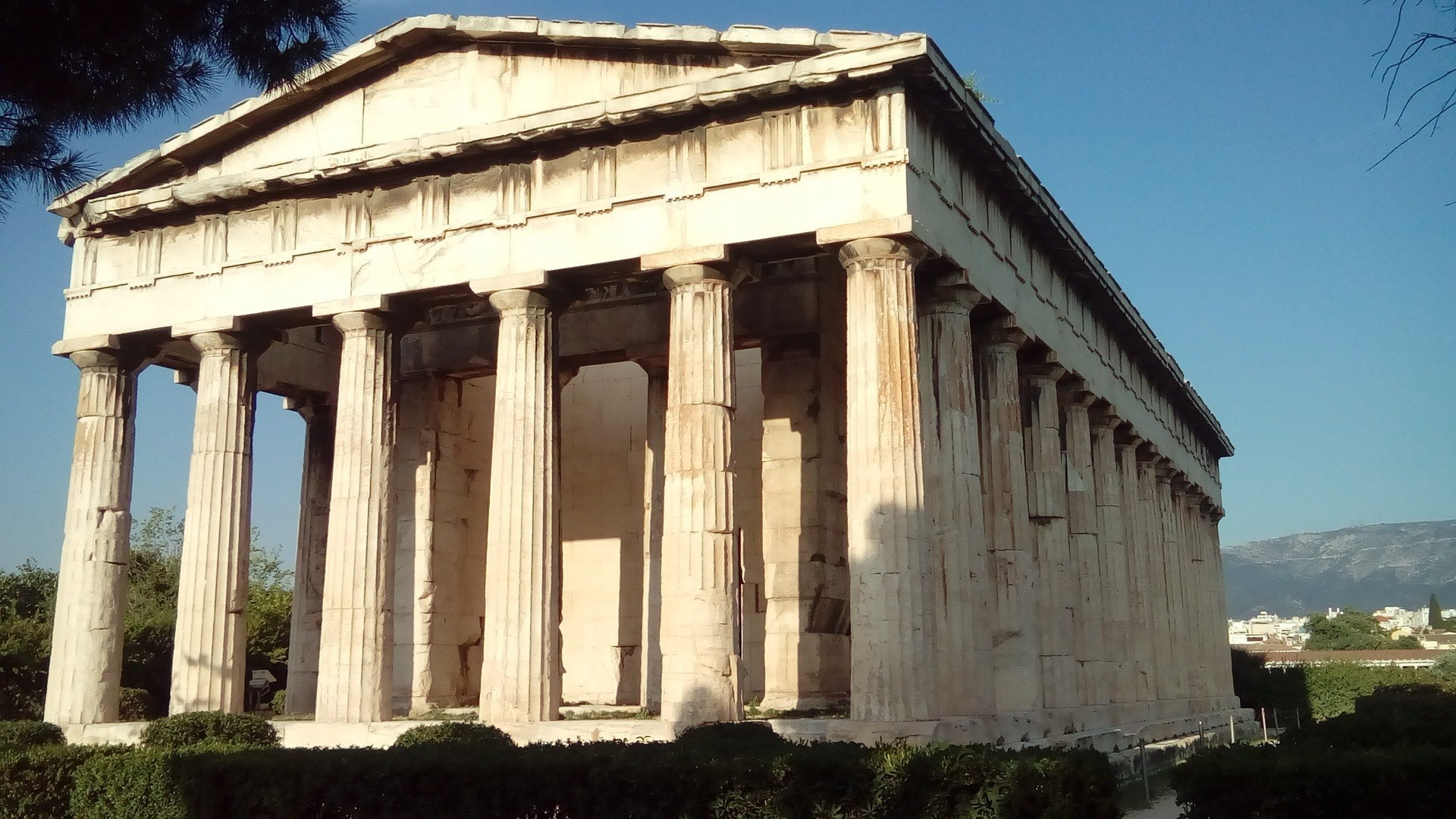 Temple of Hepaesthus and the Agora of Athens