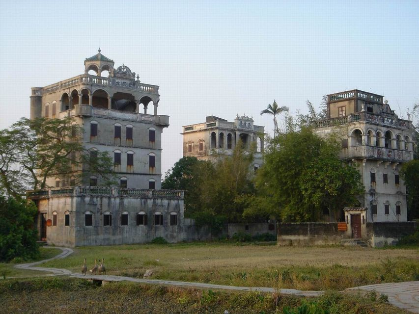 Kaiping Private Day Tour from Guangzhou