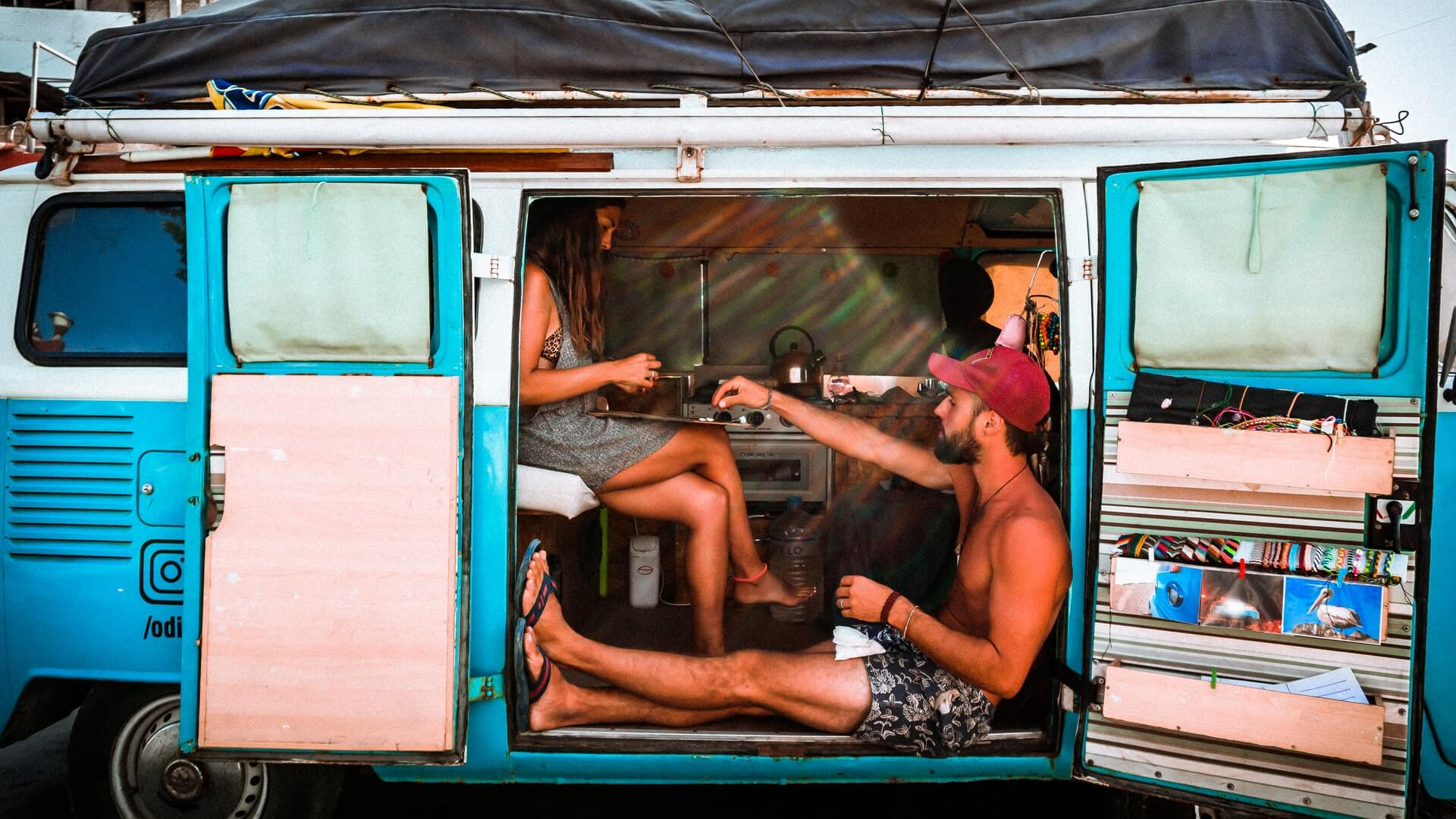 A couple travelling in a van tests the limits of their personal boundaries