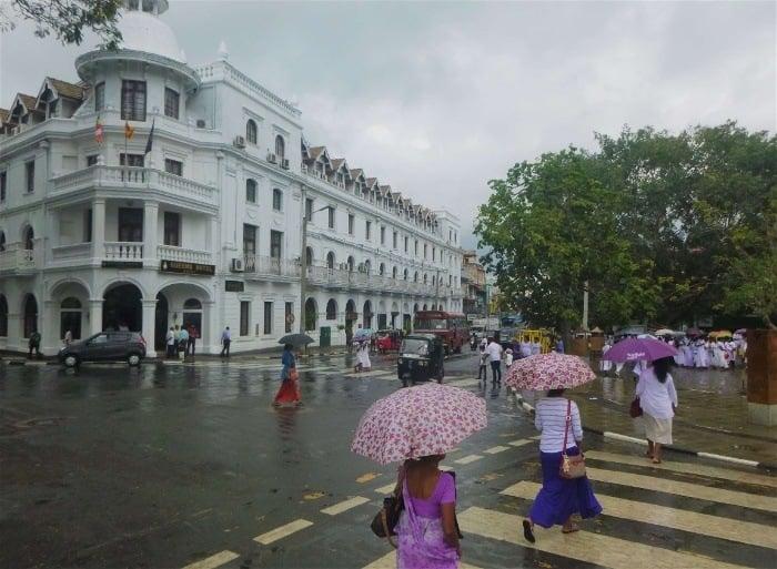 Kandy's city centre - a cool destination in Sri Lanka
