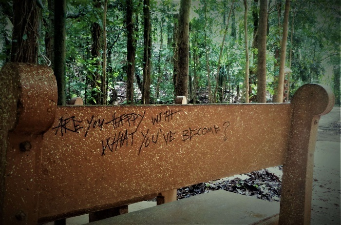 Aristolean graffiti I found on my Kandy trip