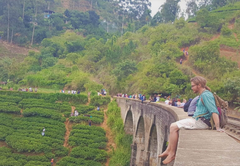 Nine arch bridge: major Ella tourism attraction
