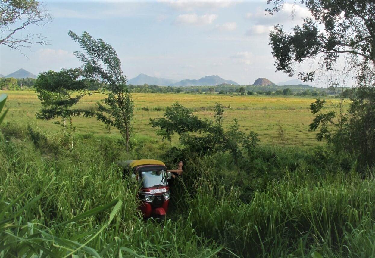 Our tuk tuk rental in Sri Lanka