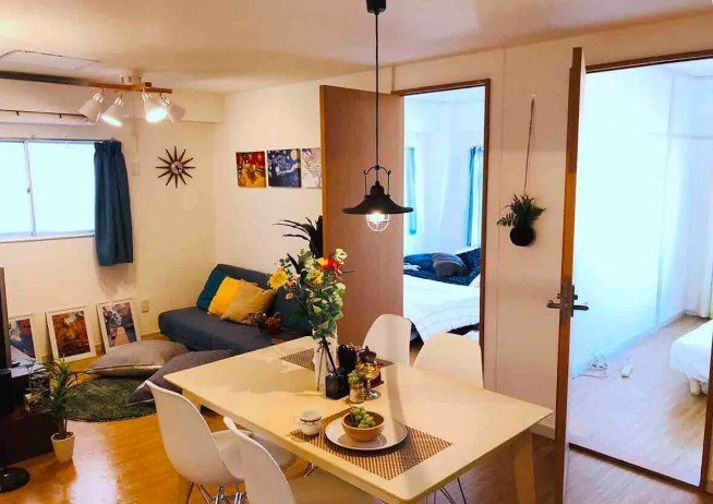 2 bedroom apartment by Korean Town