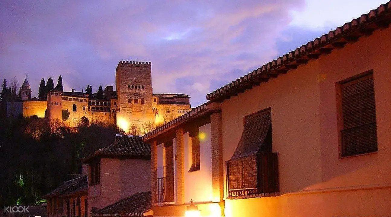 Albaicín District by Night