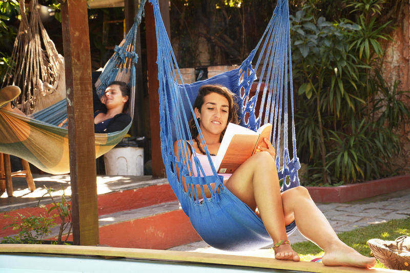 Chill hammocks: another quintessential hostel experience