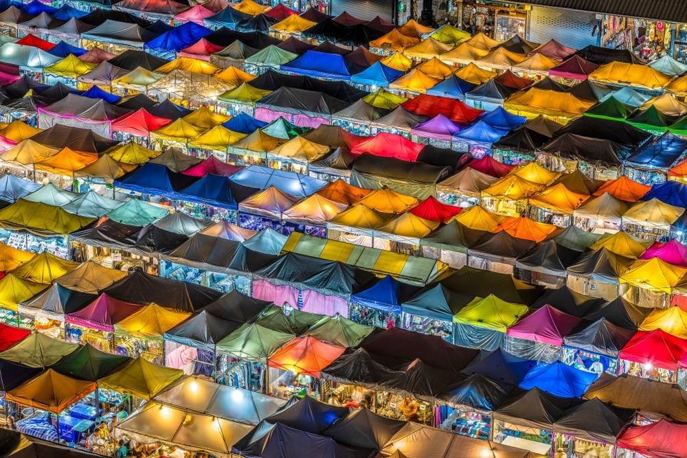 Shop at Chatuchak Market in Bangkok