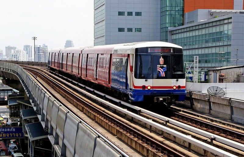 Ride the Bangkok Sky Train