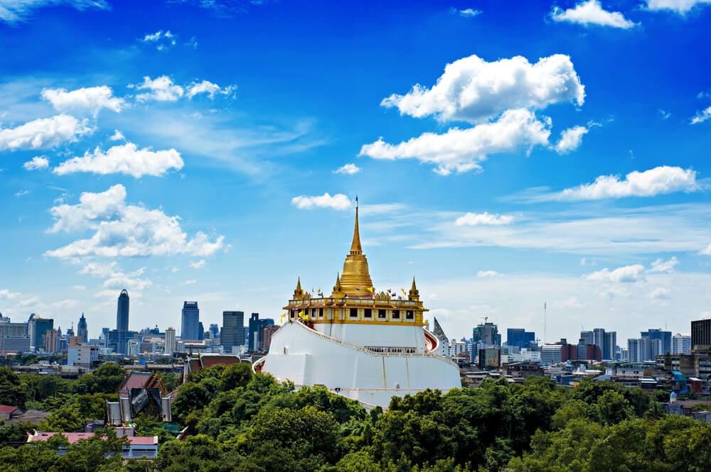 Wat Saket, the Golden Mount in Bangkok