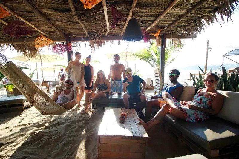 Bonobo Surf Hostel best hostels in Puerto Escondido