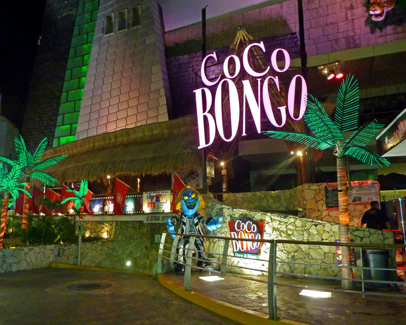 Coco Bongo Night Club in Cancun