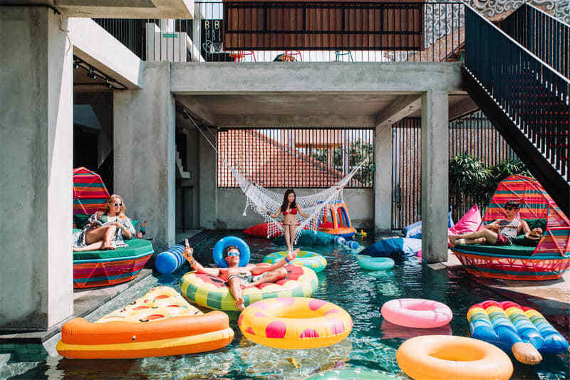 Cara Cara Inn best hostels in Kuta
