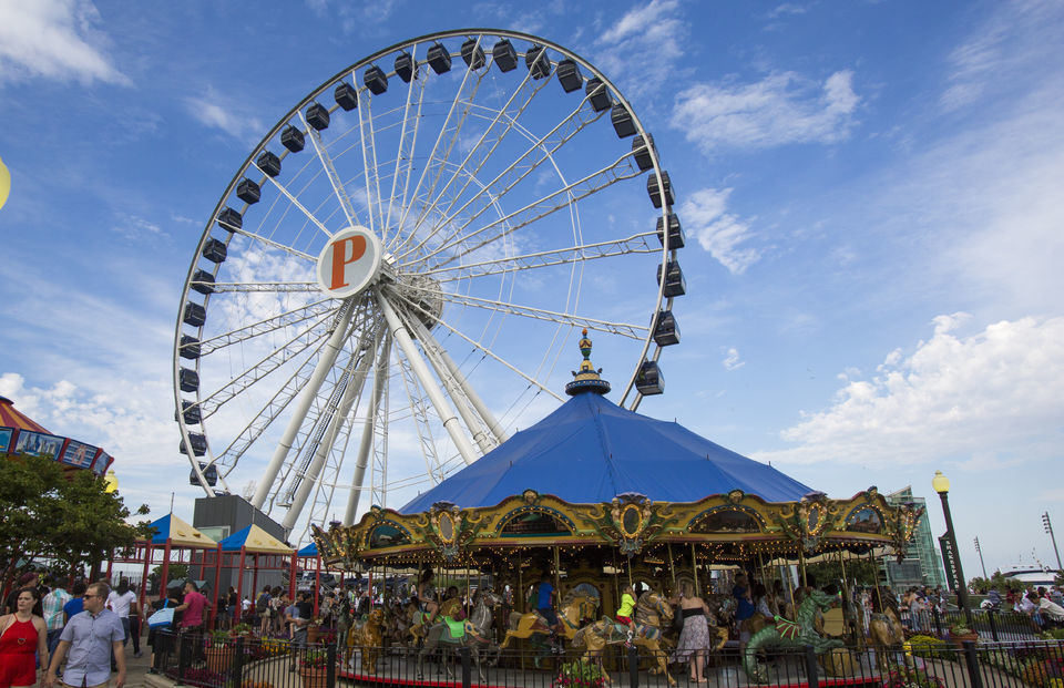 Navy Pier Centennial Wheel, Chicago
