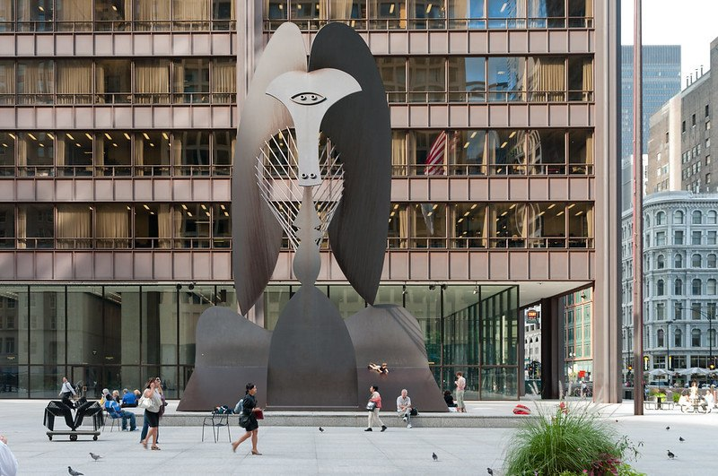 Picasso Statue, Chicago