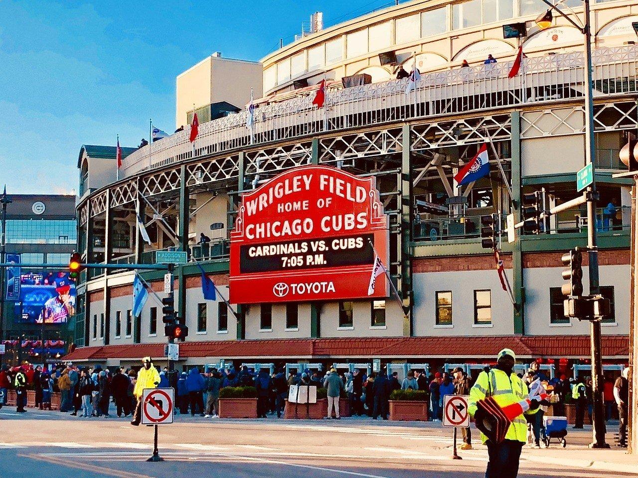 Wrigley Field Ballpark, Chicago