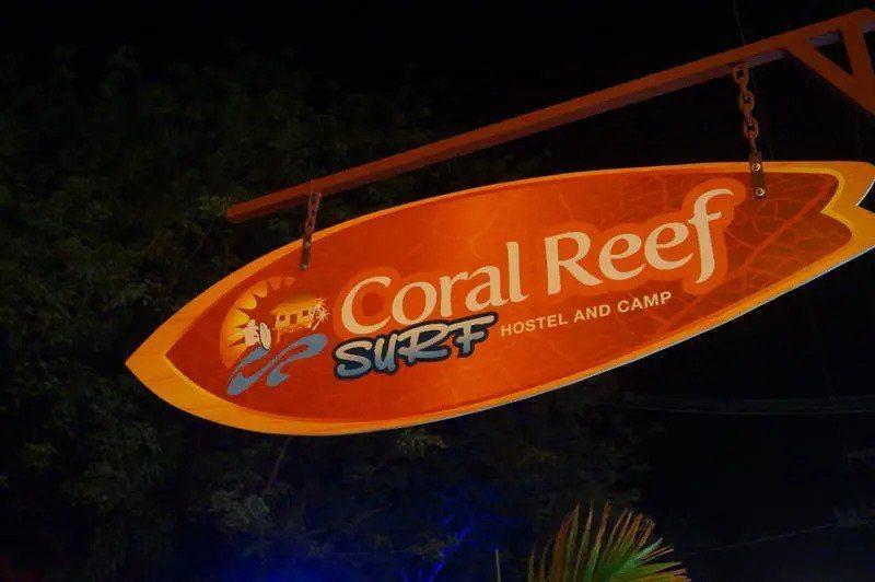 Coral Reef Surf Hostel best hostels in Tamarindo