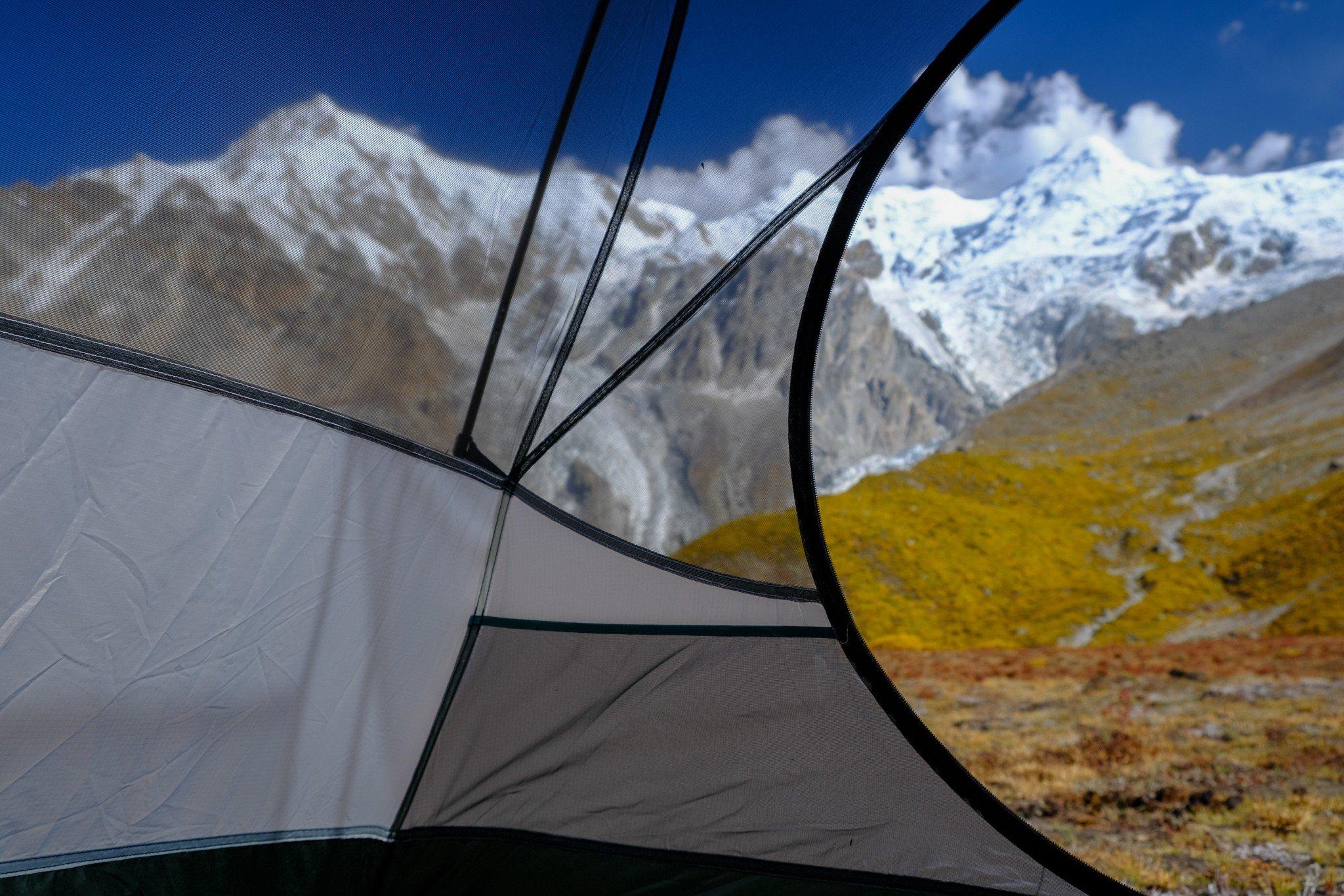 half dome 2 plus tent