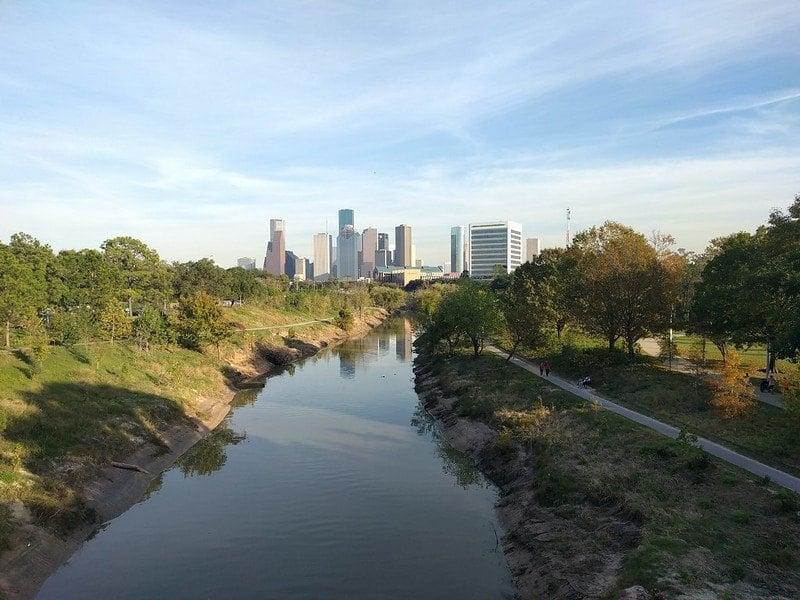 Buffalo Bayou Park Houston
