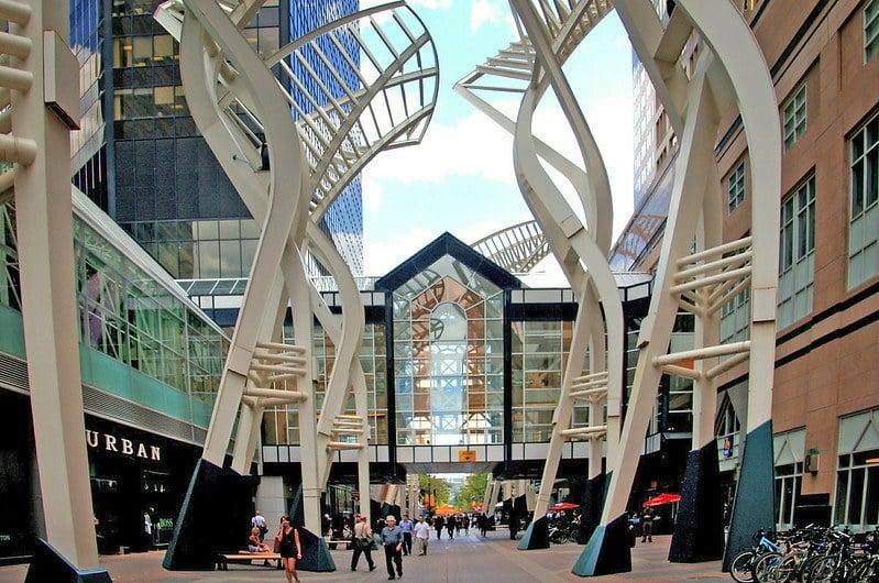 Stephen Avenue Mall Calgary