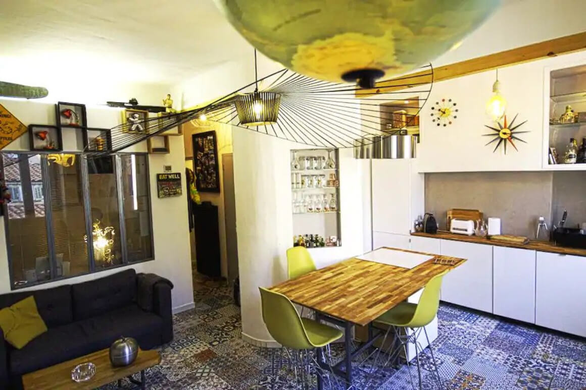 Funky Apartment in the Heart of Panier District