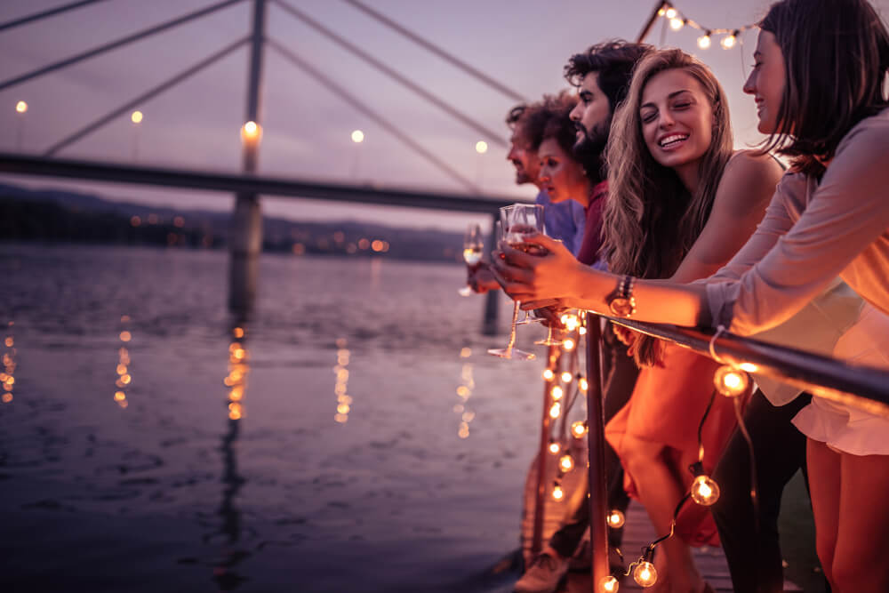 Get crazy on a booze cruise