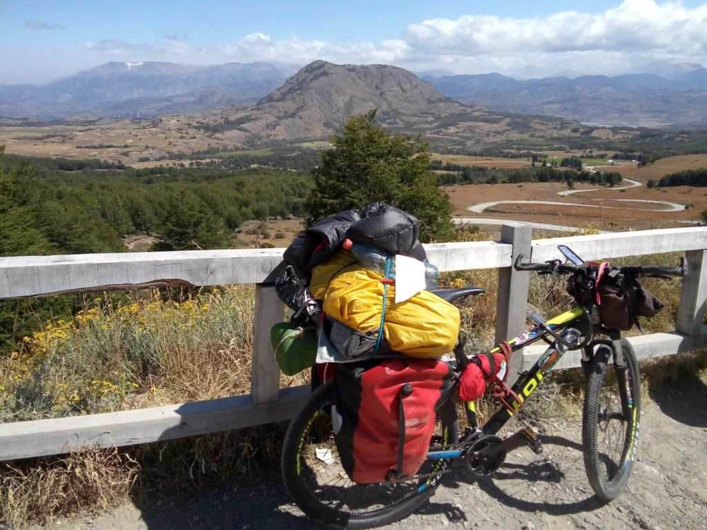 Cycle touring in South America