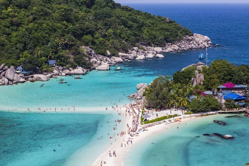 Koh Tao & Koh Nang Yuan Day Trip by Speedboat