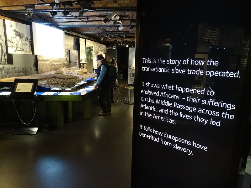 Learn about slavery at the International Slavery Museum in Liverpool.