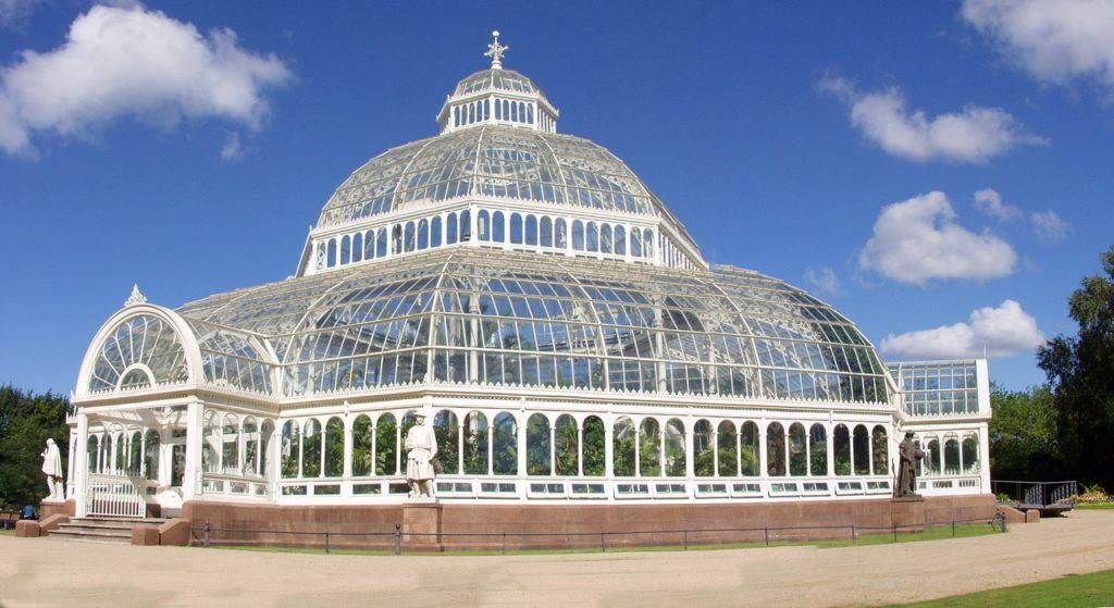 The Palm House at Sefton Park in Liverpool