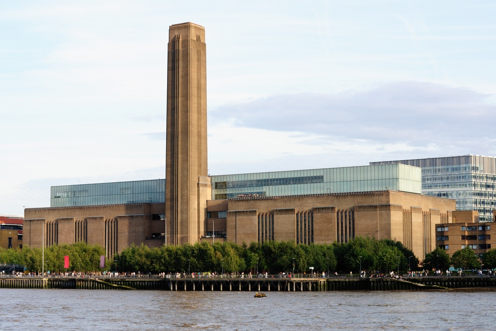Explore the modern art at Tate Modern Art Gallery in Liverpool.