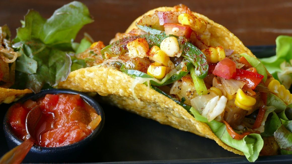 Mexican food Tulum Tacos