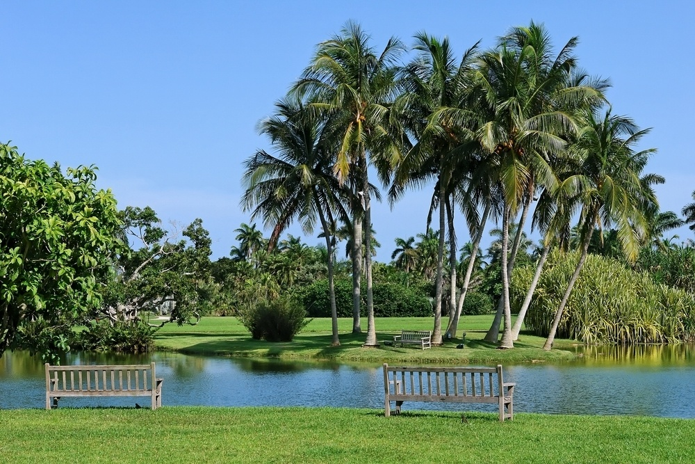 The Fairchild Tropical Botanical Garden in Miami