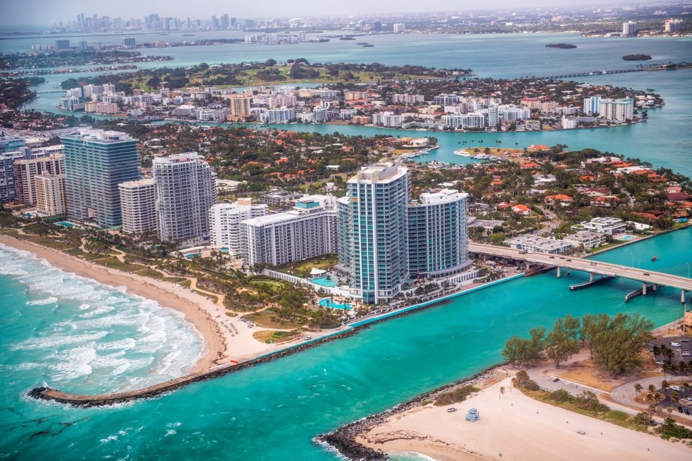 Haulover Beach Park in Miami