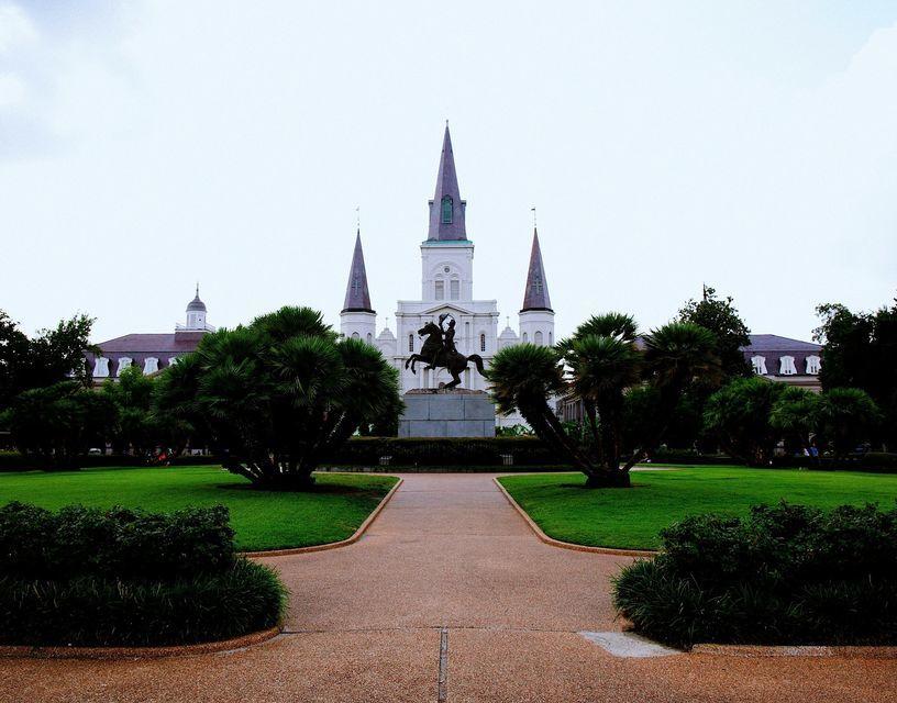 Sightseeing around New Orleans.