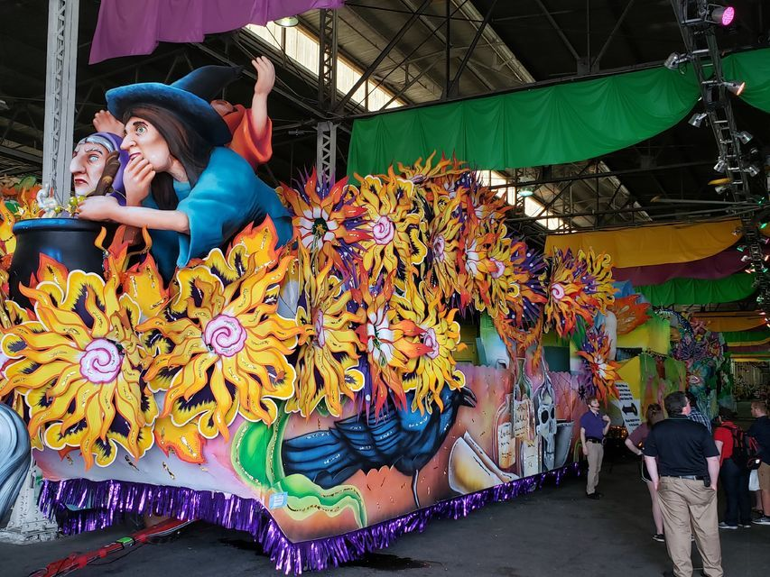Discover Mardi Gras' behind the scenes in New Orleans.