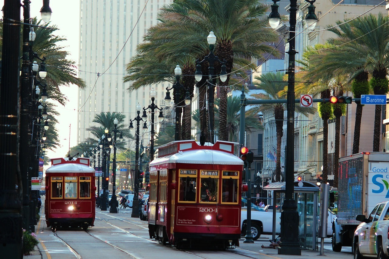Travel around New Orleans the old fashioned way.