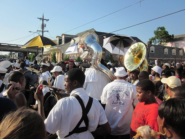 Treme, the birthplace of New Orleans Jazz.