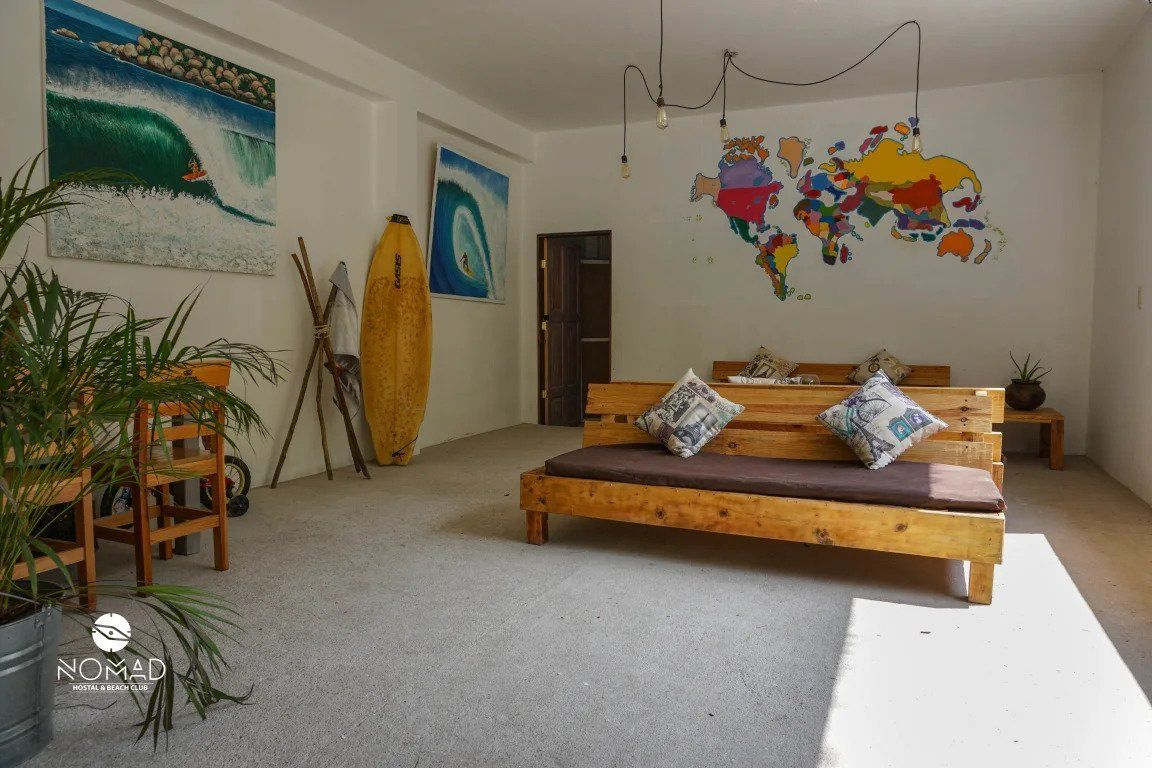 Nomad Hostel and Beach Club best hostels in Puerto Escondido