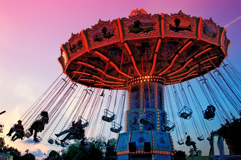 Prater Amusement Park Vienna