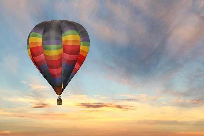 Sunrise balloon flight in Temecula