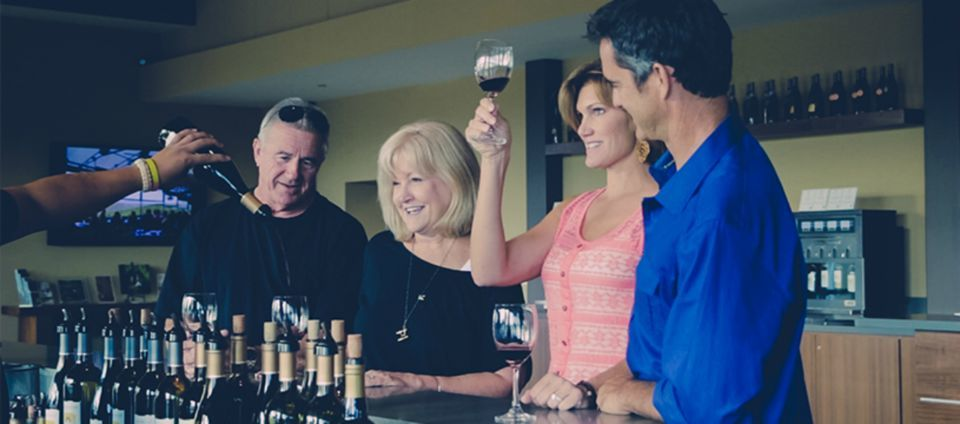 Wine tasting tour - fun thing to do in New Zealand