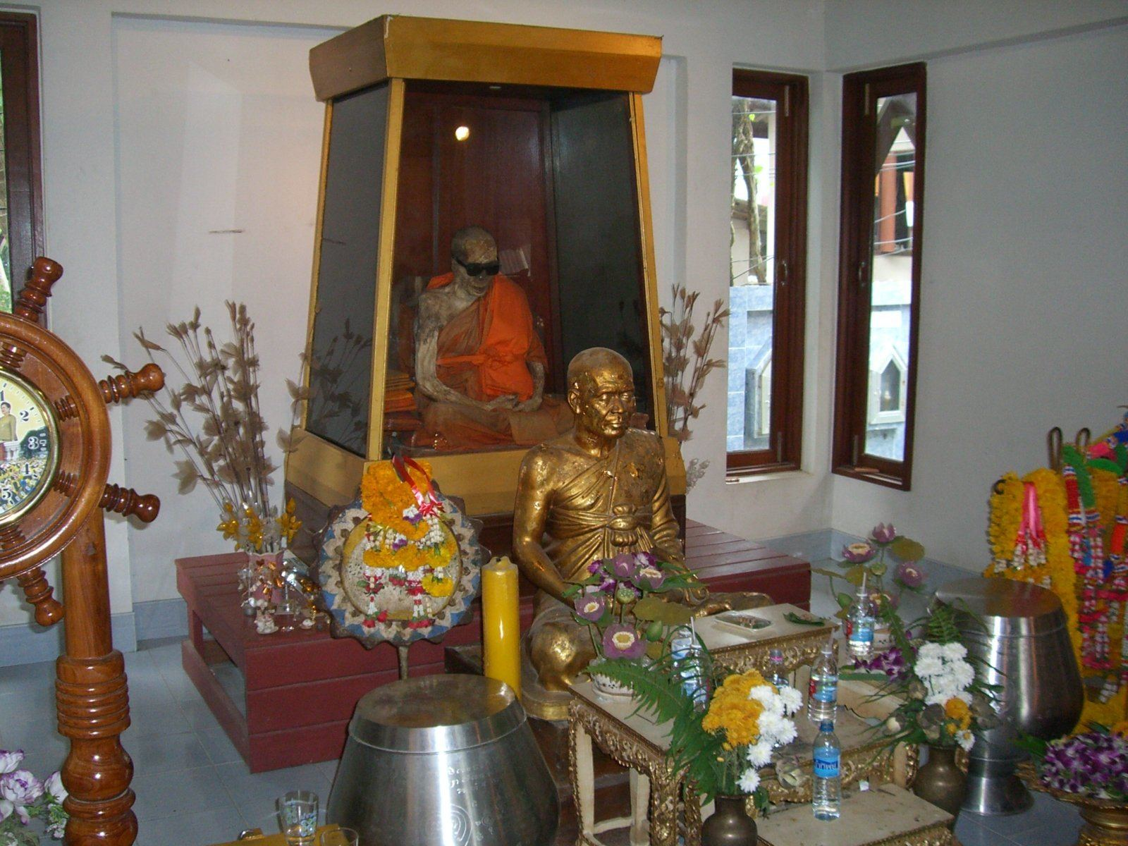 The Mummified Monk At Wat Khunaram