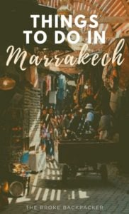 Things To Do in Marrakech PIN