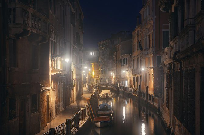Explore the haunted streets of Venice.