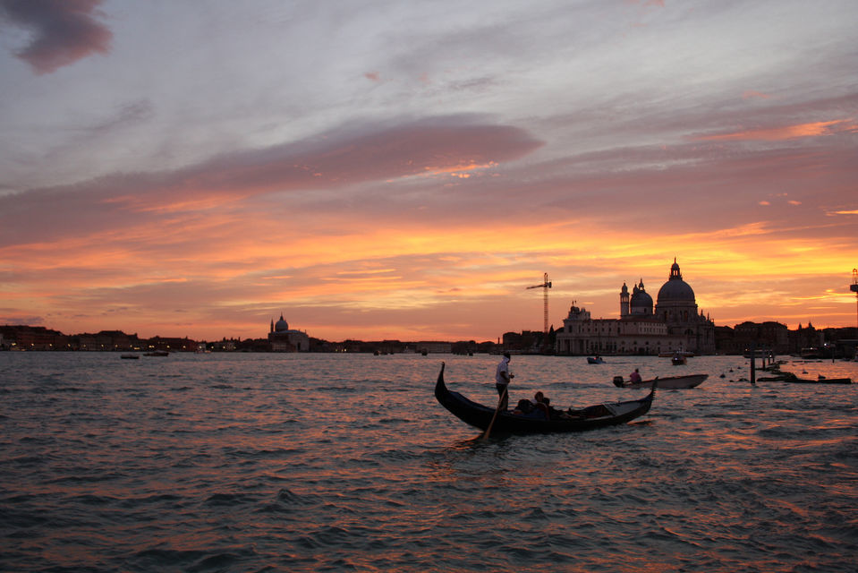Sunset Boat Tour in Venice
