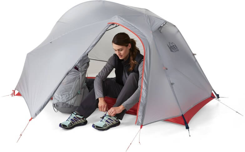 REI Quarter Dome is an excellent budget backpacking tent