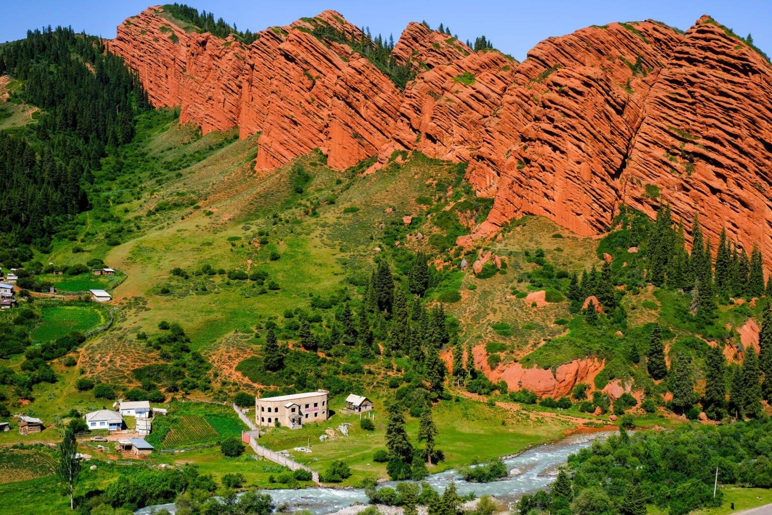 jeti oguz top destinations in kyrgyzstan