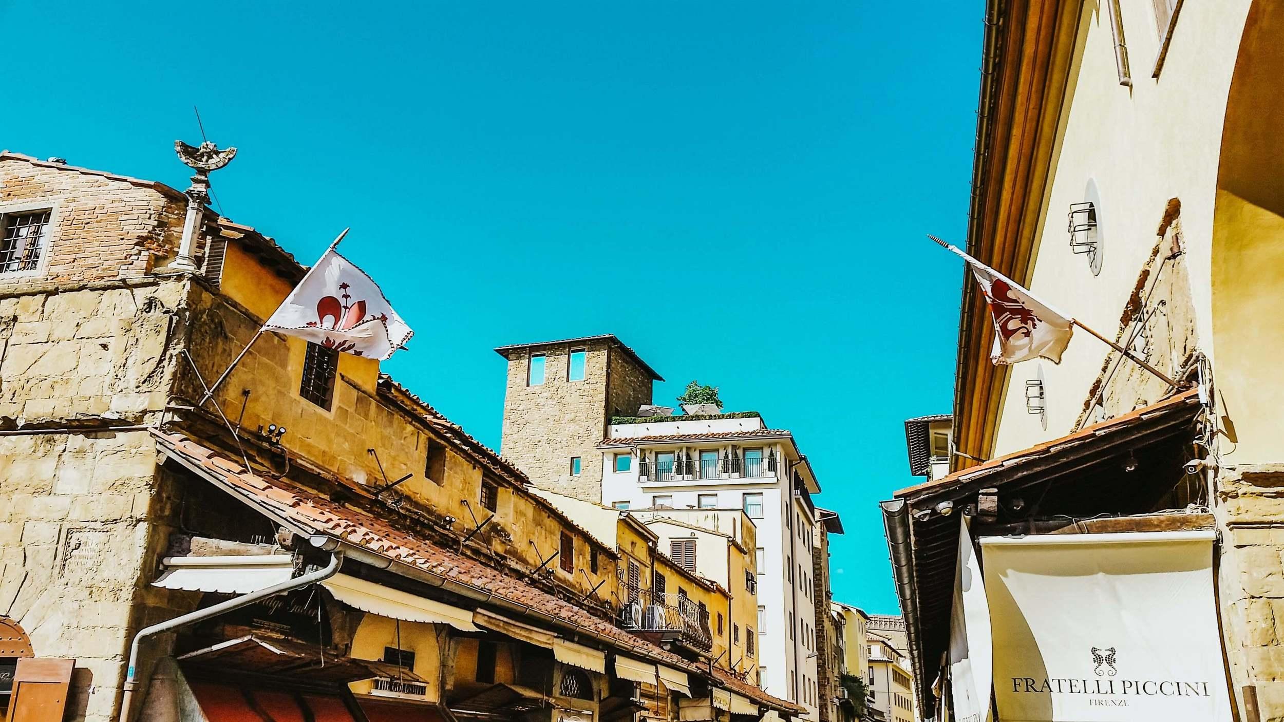 Ponte Vecchio street