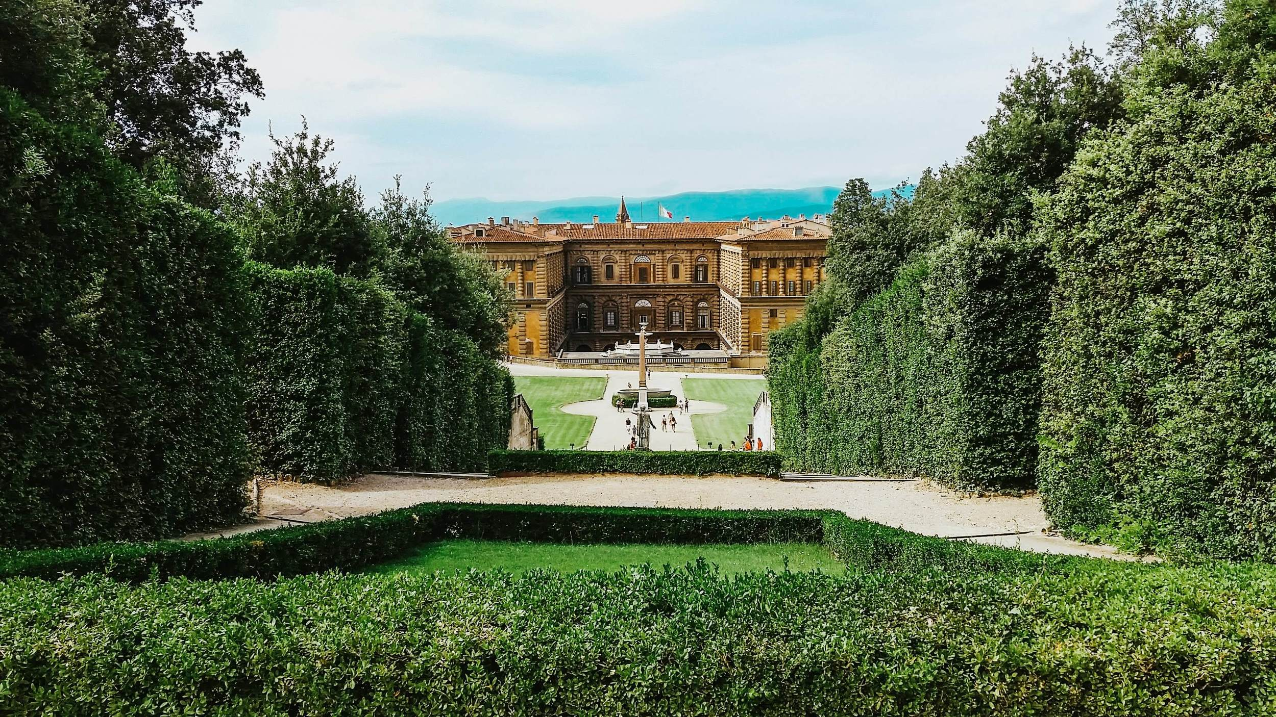 Boboli gardens Florence Italy